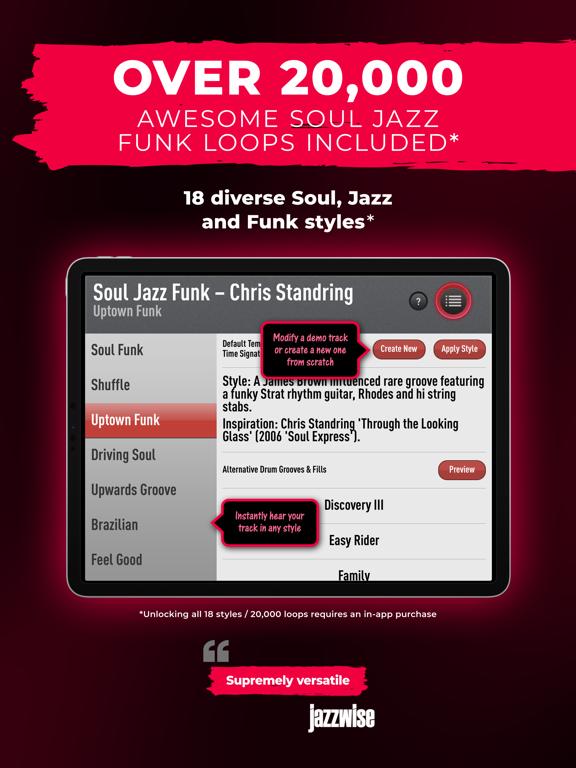 SessionBand Soul Jazz Funk 1 screenshot 12