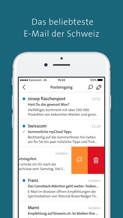 Swisscom mail login