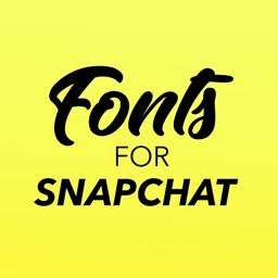 Fonts for Snapchat Keyboard