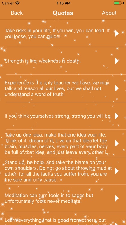 Swami Vivekananda Quotes App screenshot-3