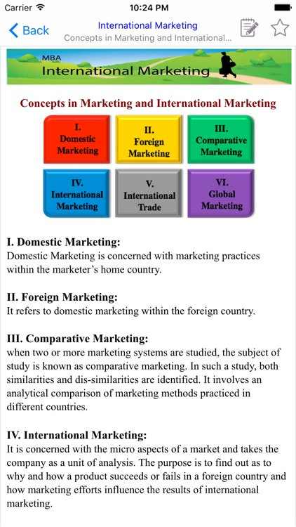 MBA International Marketing screenshot-3