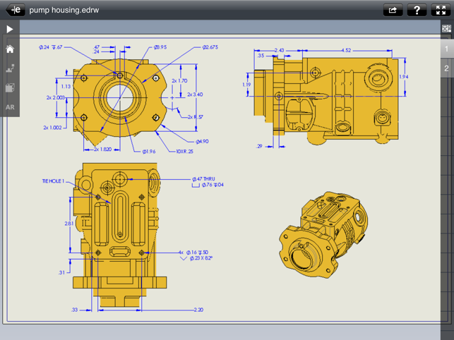 ‎eDrawings Screenshot