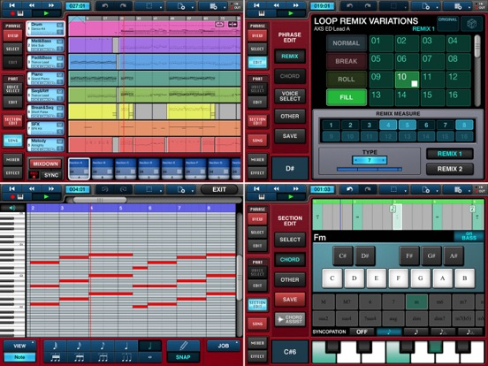 Mobile Music Sequencer - US Screenshots
