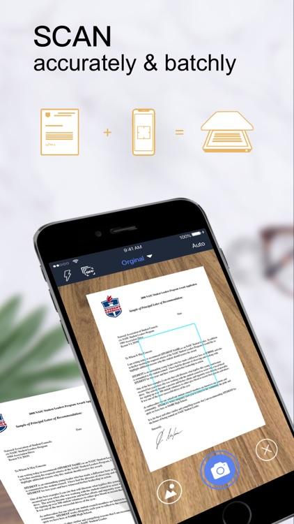 PDF Scanner - Scan Documents screenshot-0