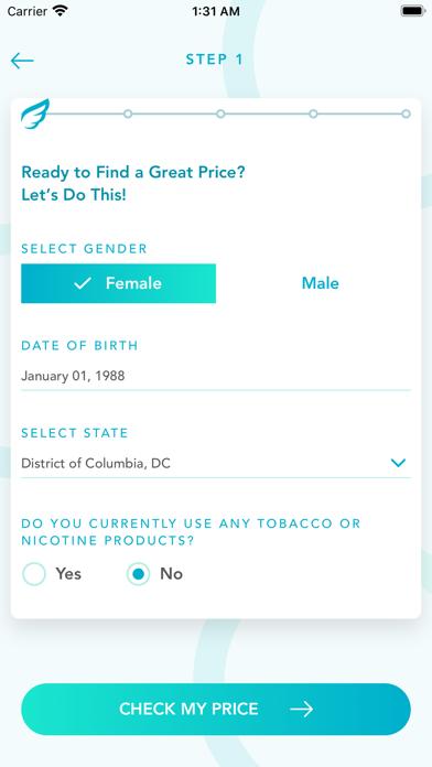 Jenny Life - Life Insurance screenshot