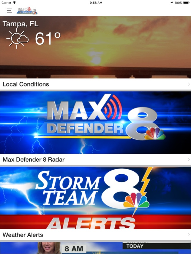 Max Defender 8 Weather App on the App Store