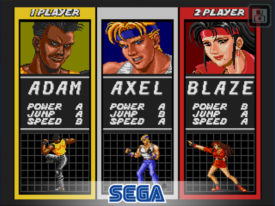 Streets of Rage Classic screenshot #1