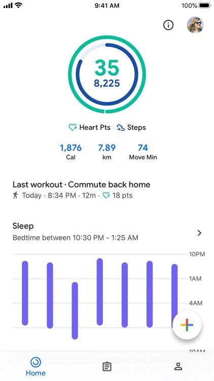 Google Fit – Activity Tracker screenshot-5