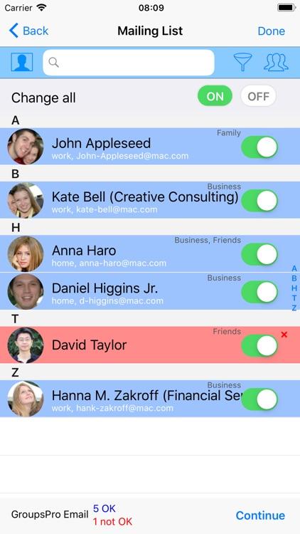 GroupsPro X screenshot-3