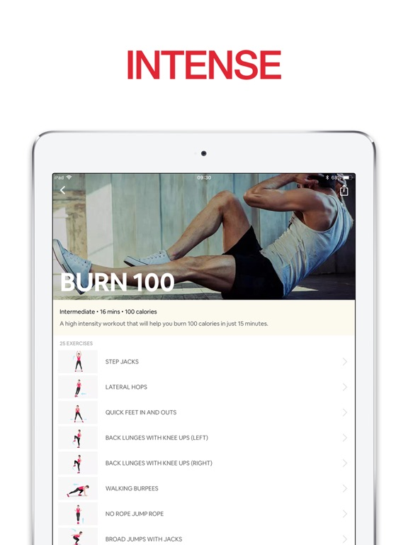 7 Minute Cardio Trainer - Quick Fitness Workout screenshot