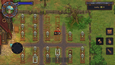 Screenshot from Graveyard Keeper