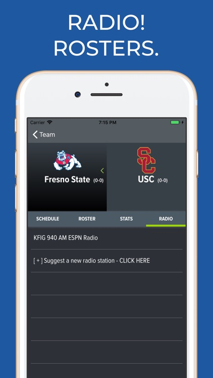 Fresno State Football App screenshot-1