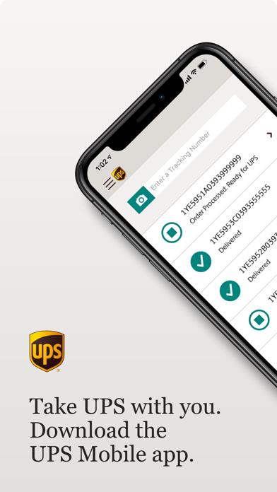 UPS モバイルのスクリーンショット1
