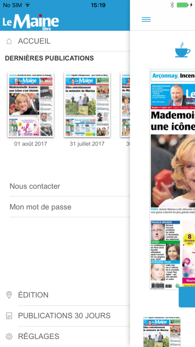Le Maine Libre - Journal screenshot two