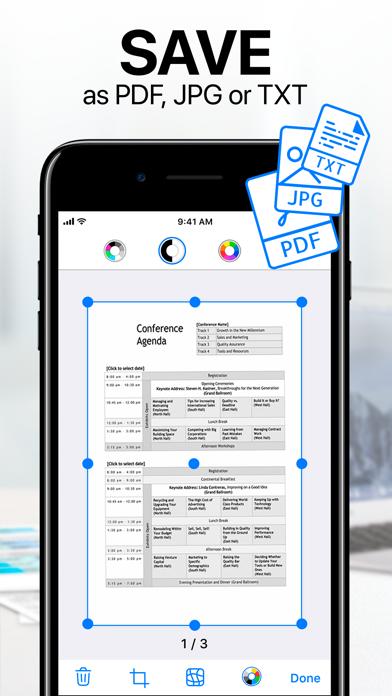 iScanner - PDF Scanner App Screenshot
