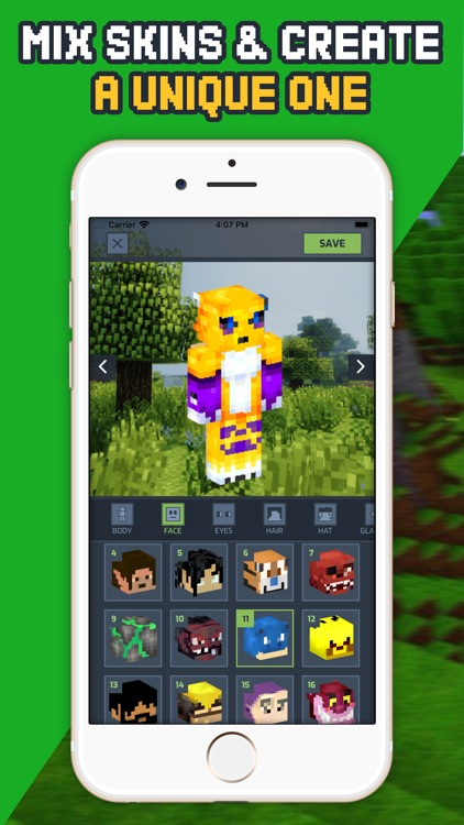 Crafty Skins for Minecraft ™