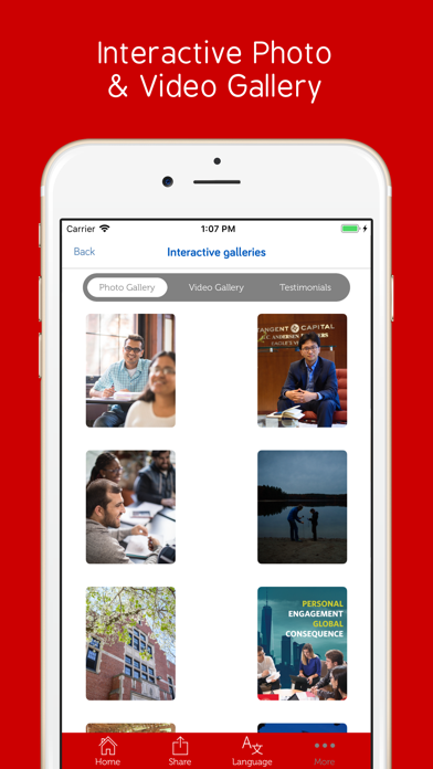 Clark University screenshot 5
