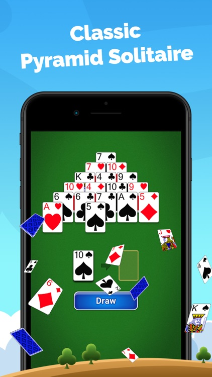 Pyramid Solitaire - Card Game screenshot-0
