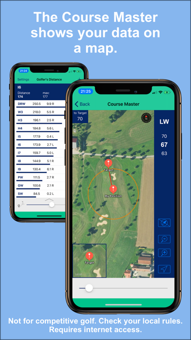 Golfer's Distance screenshot three