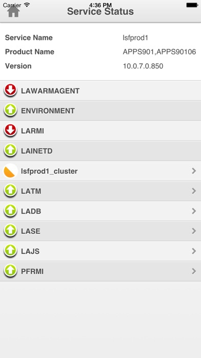 Infor Lawson Mobile Monitor screenshot four
