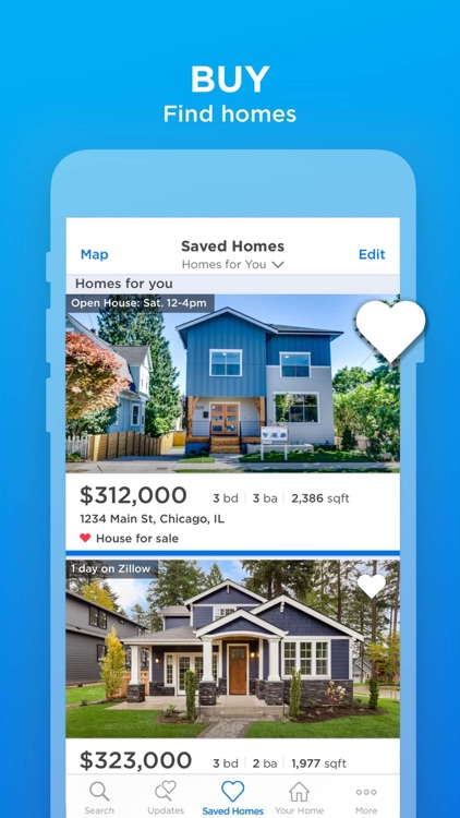 Zillow Real Estate & Rentals – (iOS Apps) — AppAgg on