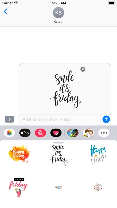 Daily Stickers app image
