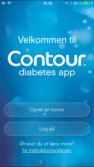 Screenshot for CONTOUR DIABETES app (DK) in Denmark App Store