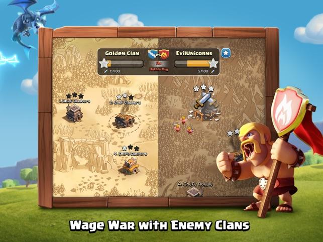 clash of clans para pc ios