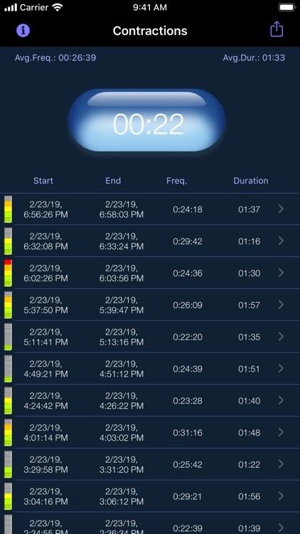 My Contraction Tracker screenshot-7