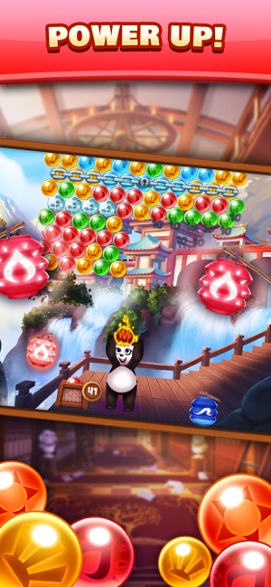 Panda Pop! Bubble Shooter Game Screenshot