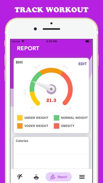 30 days workout for women screenshot-3