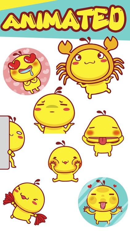 Happy Bird: Animated Stickers