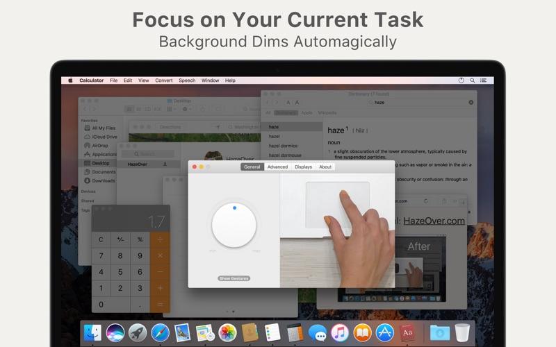 HazeOver • Distraction Dimmer™ Screenshots