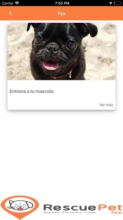 Rescue Pet App screenshot-8
