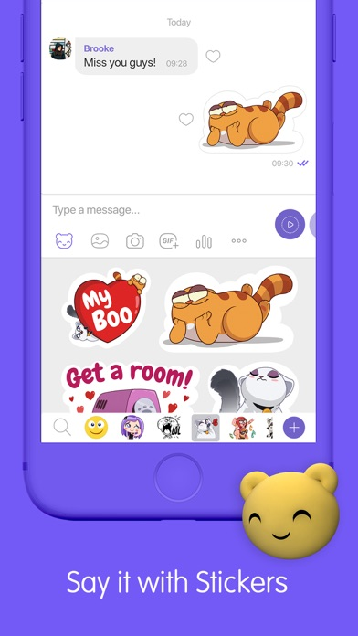 Screenshot for Viber Messenger: Chats & Calls in Czech Republic App Store