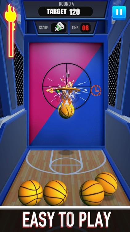 Score King-Basketball Games 3D screenshot-3