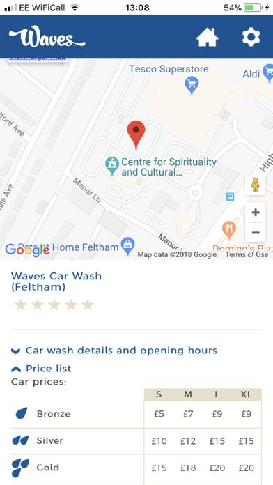 Waves Car Wash screenshot four