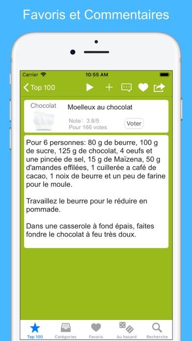 Screenshot #2 pour Recettes de cuisine (12000)