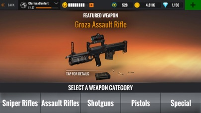 Screenshot for Sniper 3D Assassin: Gun Games in United States App Store