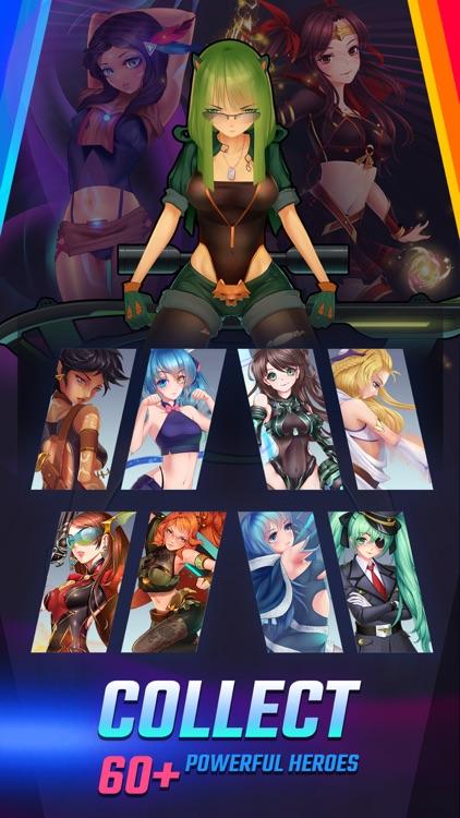 Girls Galaxy: Puzzle Arena screenshot-4