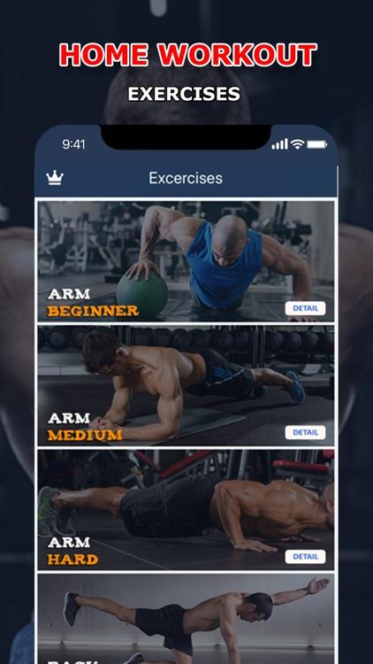 Home Fitness Workout Pro screenshot-0
