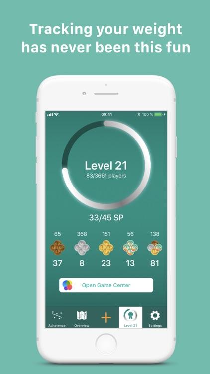 Scelta: Track my weight screenshot-3