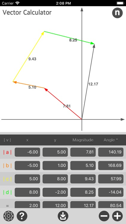 Vector Calculator Plus
