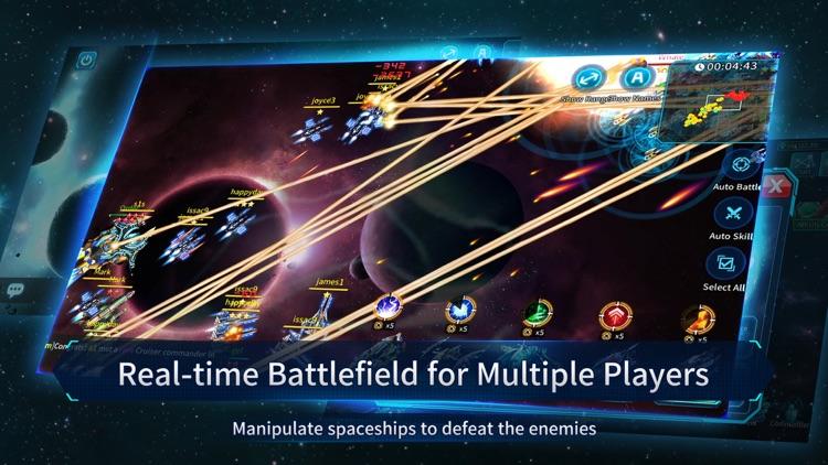 Clash of Stars: Strategy Space screenshot-3