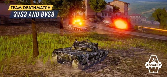 Armored Warfare: Assault on the App Store