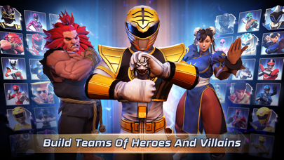 Screenshot from Power Rangers: Legacy Wars
