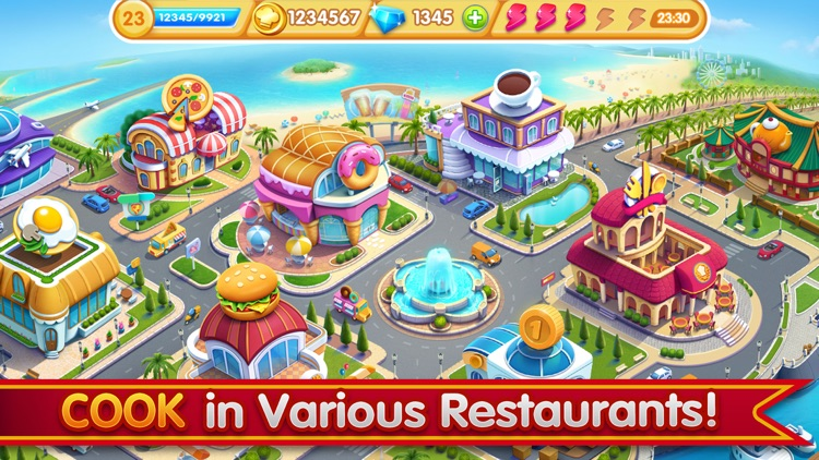 Cooking City - Chef's Game screenshot-4