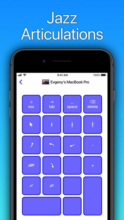 Sibelius KeyPad for Mac screenshot-5
