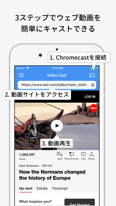 Video Stream for Chromecastのおすすめ画像2
