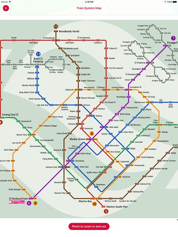 Screenshot #6 pour Singabus - Bus Timing + MRT
